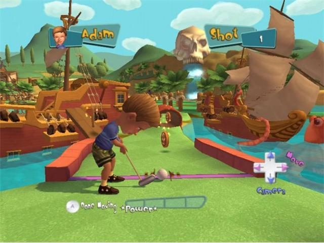 Carnival games: Mini Golf Wii Game 2K GAMES