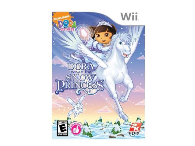 Dora the Explorer: Dora Saves the Snow Princess Wii Game