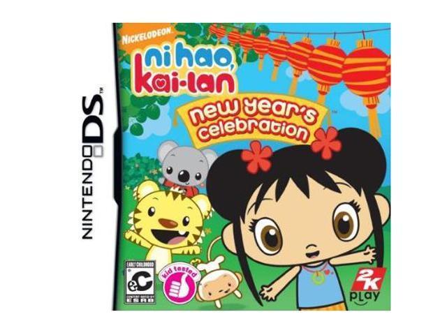 New Years Celebration Ni Hao Kai-Lan Nintendo DS Game