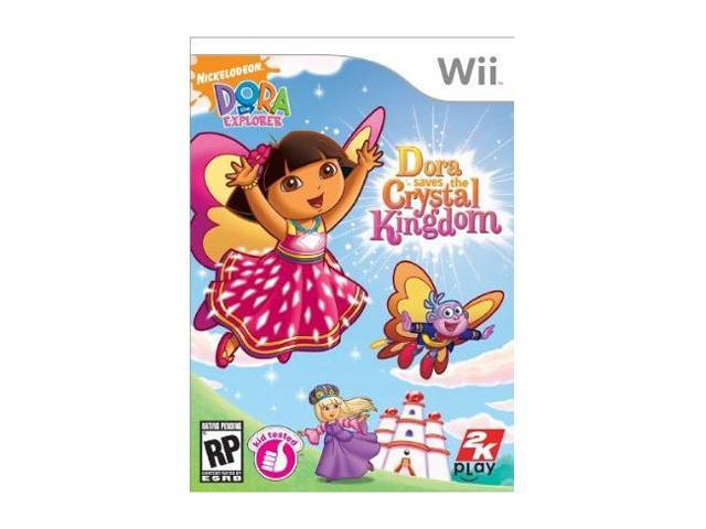 Dora the Explorer: Dora Saves the Crystal Kingdom Wii Game