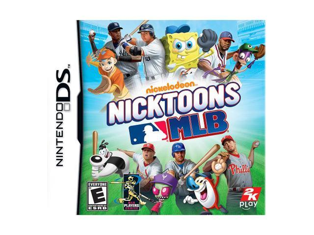 Nicktoons MLB Nintendo DS Game