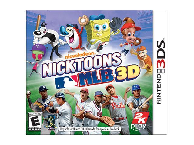 Nicktoons MLB 3D Nintendo 3DS Game