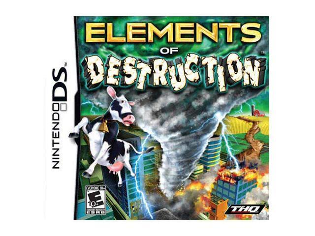 Elements of Destruction Nintendo DS Game