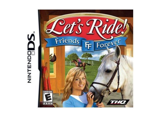 Let's Ride Friends Forever Nintendo DS Game THQ