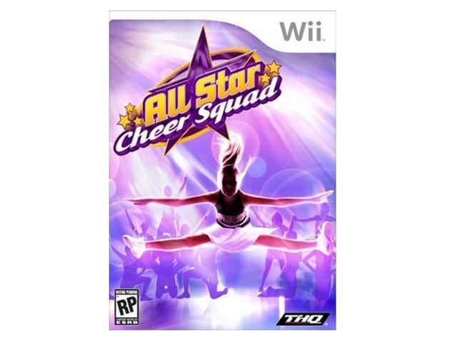 All Star Cheer Squad Wii Game THQ
