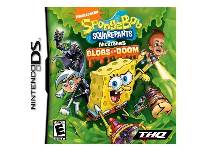 Spongebob: Nicktoons Glob of Doom Nintendo DS Game