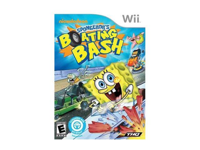 Spongebob Boating Bash Wii Game