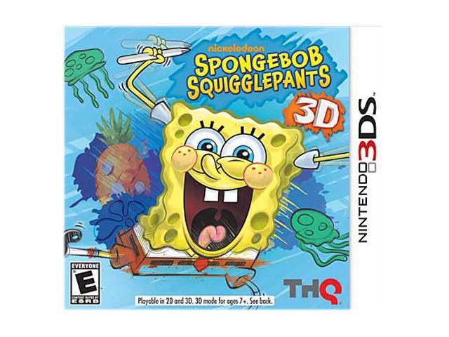 Spongebob Squigglepants Nintendo 3DS Game