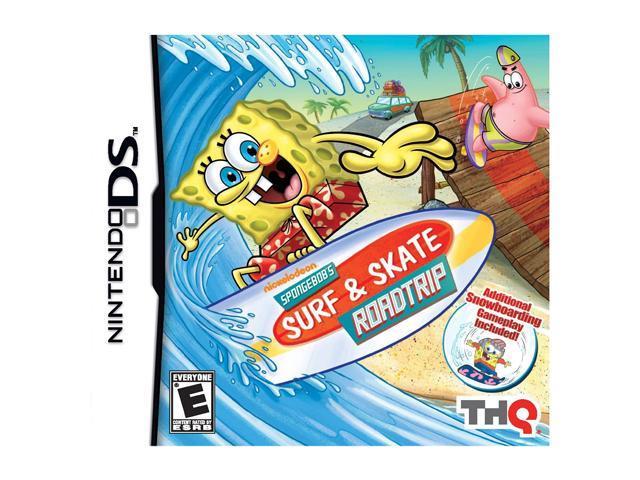 Spongebob Surf & Skate Roadtrip Nintendo DS Game