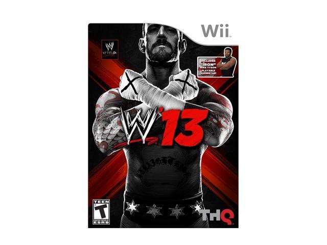 WWE '13 Wii Game