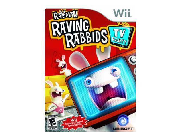 Rayman Raving Rabbids 3: TV Party Wii Game UBISOFT