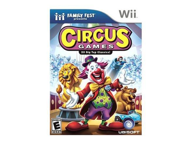 Circus Games Wii Game UBISOFT
