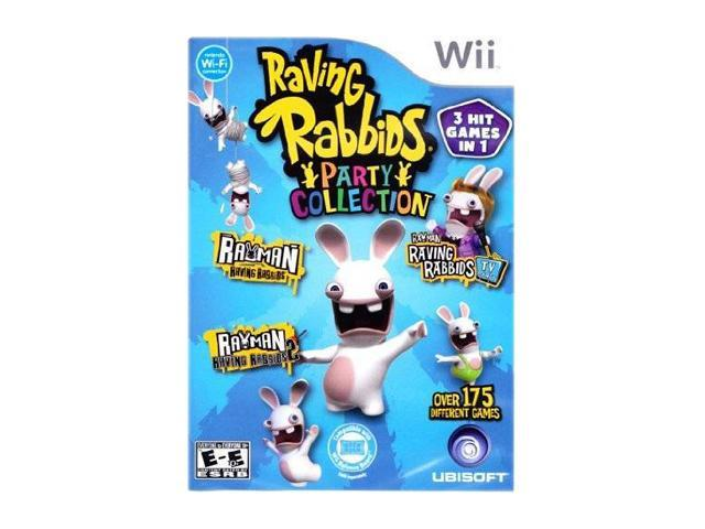 Raving Rabbids Party Collection Wii Game