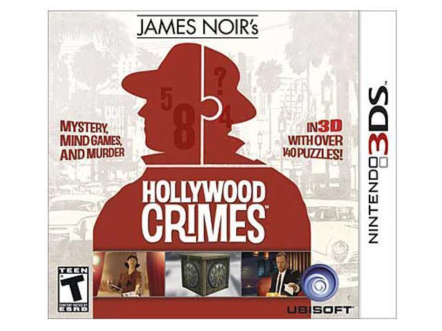 James Noir Hollywood Crimes Nintendo 3DS Game