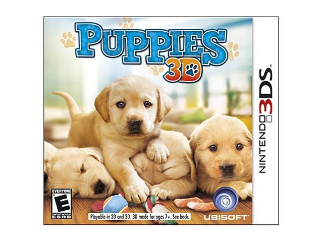 Cute Puppies Nintendo 3DS Game