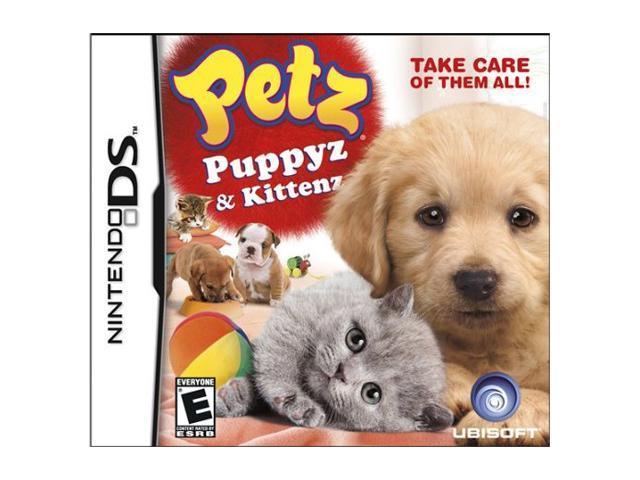 Petz Puppyz & Kittenz Nintendo DS Game