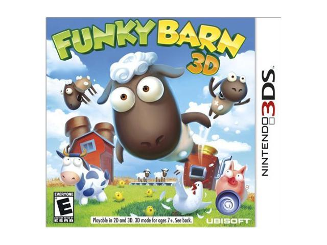 Funky Barn 3D Nintendo 3DS Game