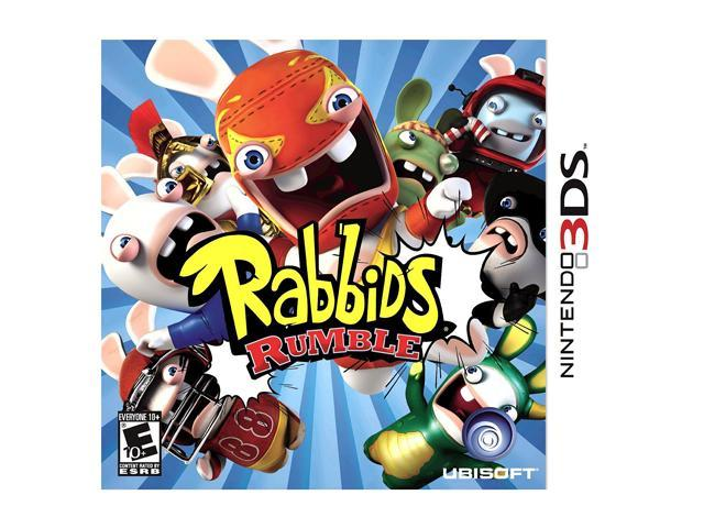 Rabbids Rumble Nintendo 3DS Game