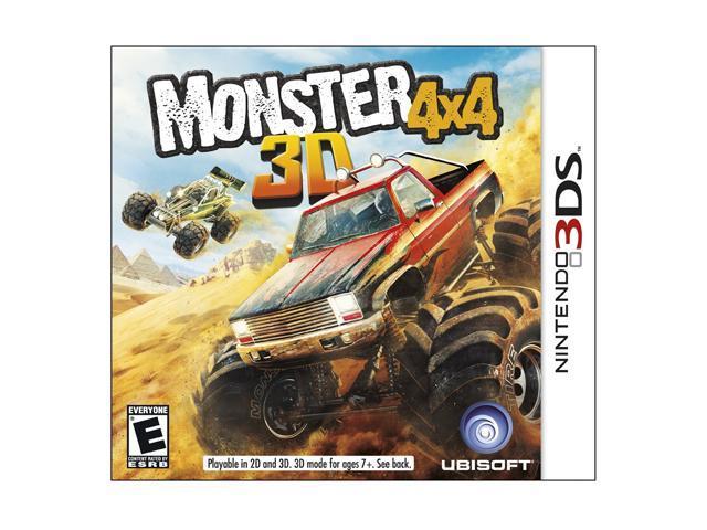 Monster 4x4 Nintendo 3DS Game