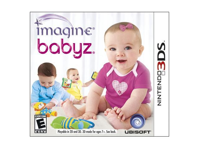 Imagine Babyz 3D Nintendo 3DS Game