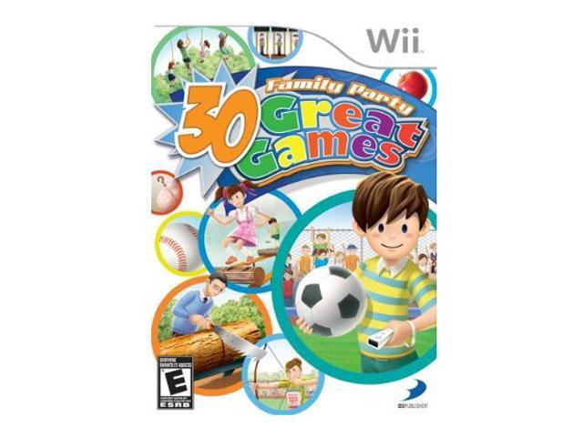 Family Party: 30 great Games Wii Game