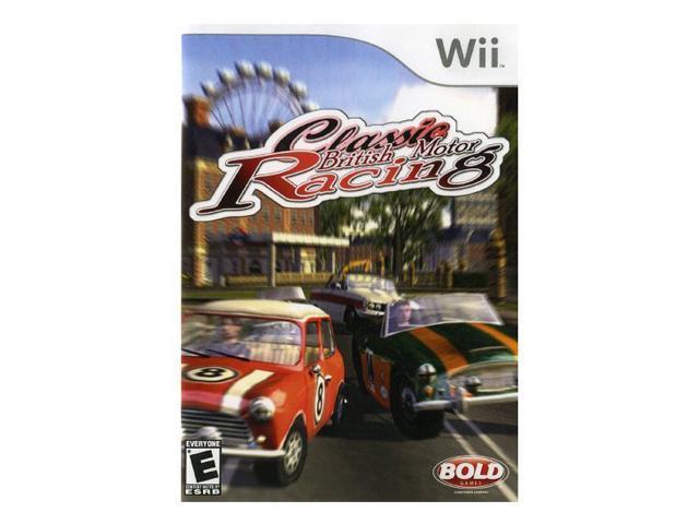 Classic British Motor Racing Wii Game DESTINEER