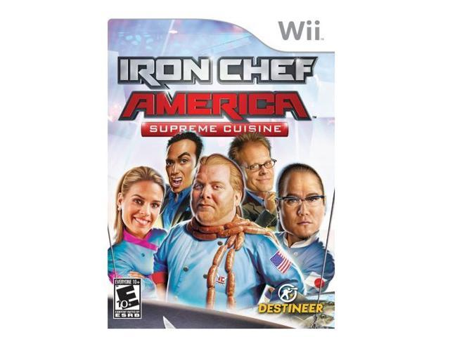 Iron Chef America: Supreme Cuisine Wii Game