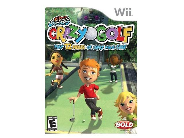 Kidz Sports: Crazy Golf Wii Game