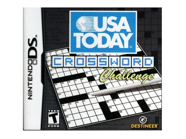 USA Today Crosswords Challenge Nintendo DS Game
