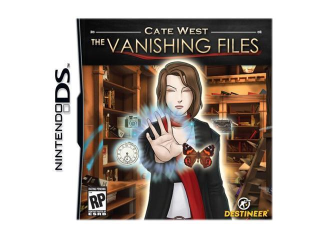 Cate West: The Vanishing Files Nintendo DS Game