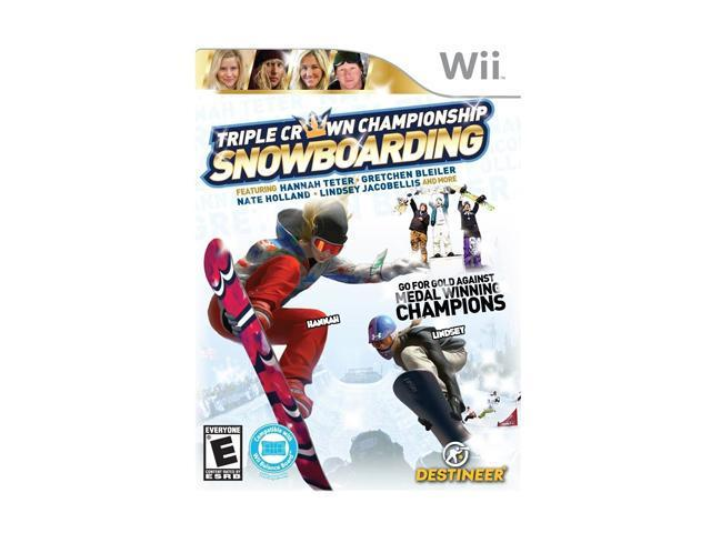 Triple Crown Championship Snowboarding Wii Game
