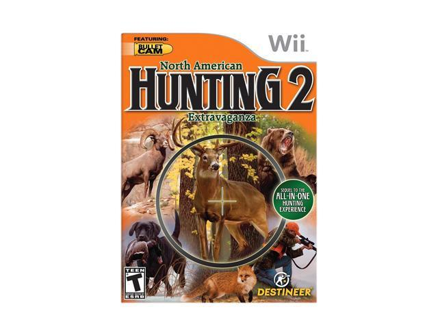 North American Hunting Extravaganza 2 Wii Game