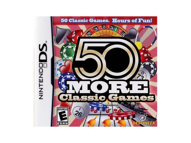50 More Classic Games Nintendo DS Game