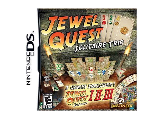 Jewel Quest Solitaire Trio Nintendo DS Game