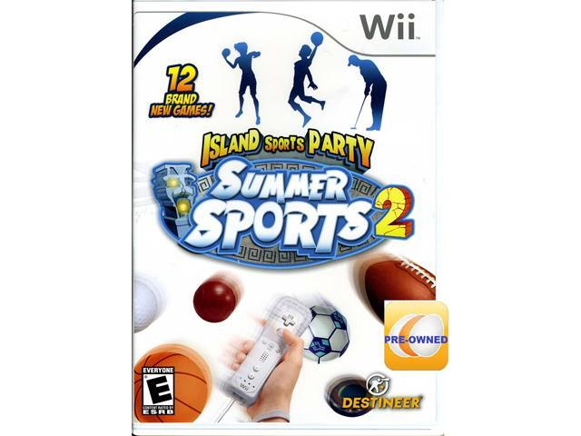 PRE-OWNED Summer Sports 2: Island Sports Party  Wii