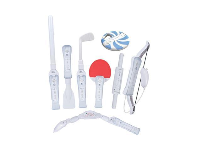 CTA Wi-8SR Nintendo Wii(R)8-In-1 Sports Pack for Wii Sports Resort(R) (White)