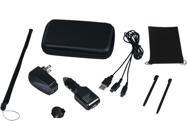 CTA DS-9KB Nintendo DSi(R)/DS(R) 9-In-1 Travel Kit (Black)