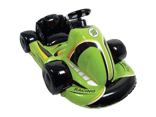CTA Digital Inflatable Racing Kart - Green for Wii