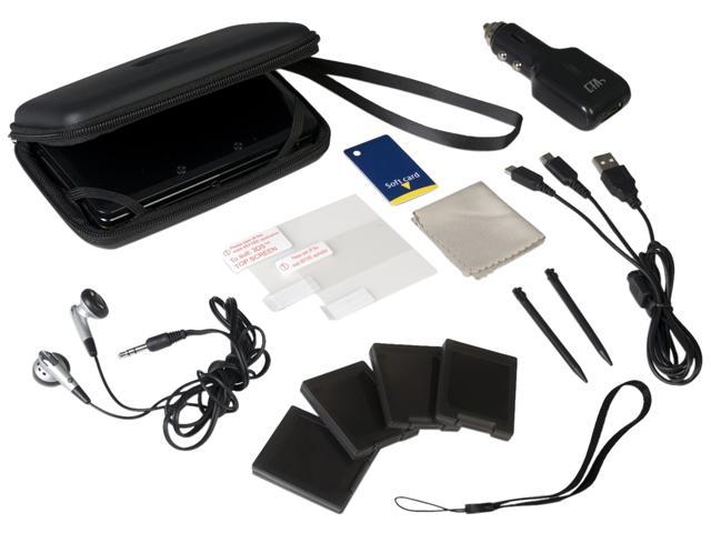 CTA Digital 12 in 1 Adventure Pack for 3DS Black