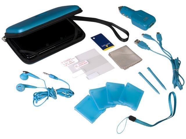 CTA Digital 12 in 1 Adventure Pack for 3DS Blue