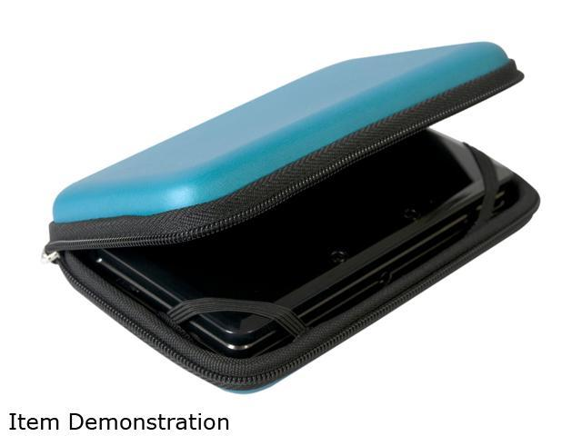 CTA Digital EVA Travel Case for Nintendo 3DS Blue