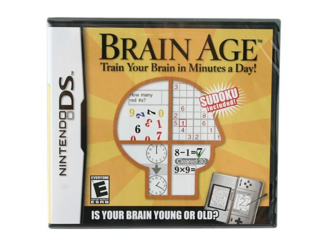Brain Age: Train Your Brain in Minutes a Day! Nintendo DS game Nintendo