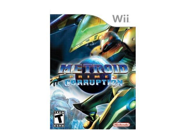 Metroid Prime 3: Corruption Wii Game
