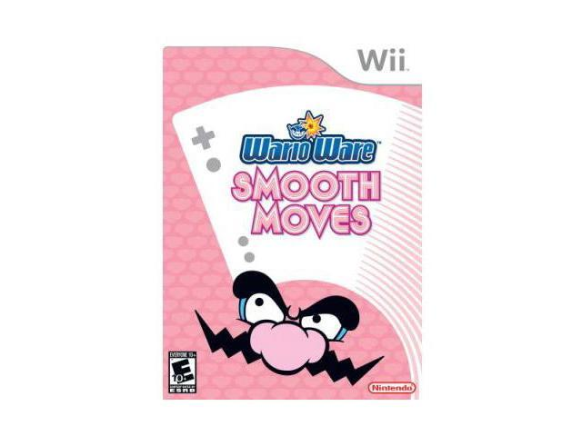 Warioware: Smooth Moves Wii Game Nintendo