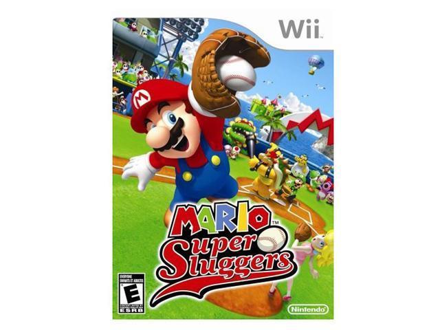 Mario Super Sluggers Wii Game Nintendo