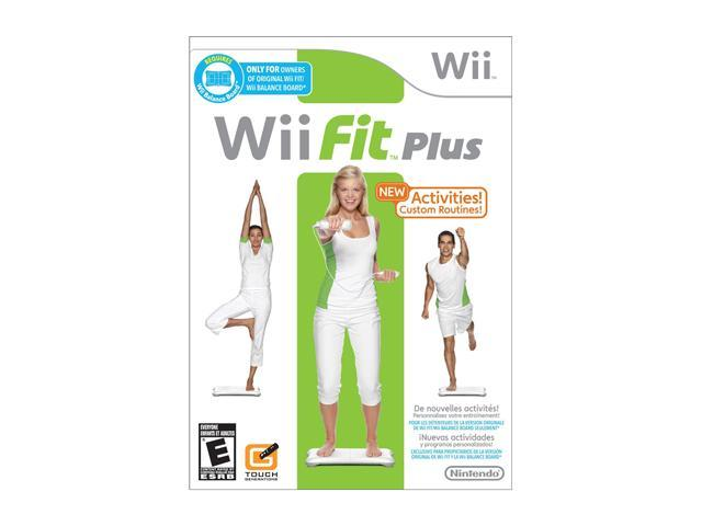 Wii Fit Plus (Game Only) Wii Game-Newegg.com