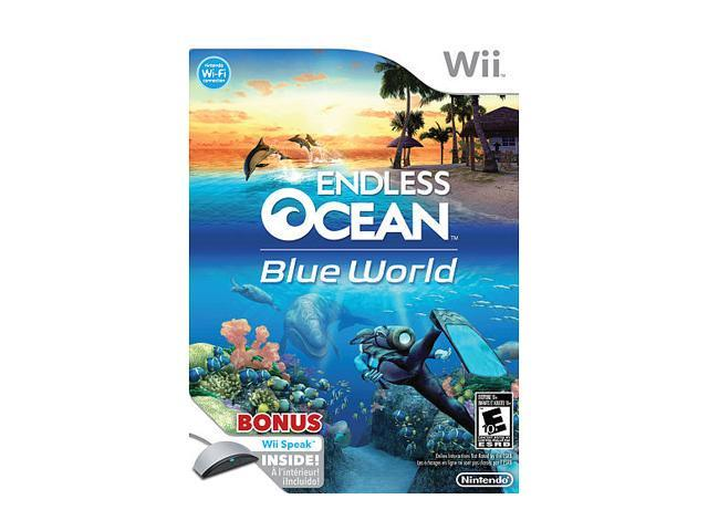 Endless Ocean 2: Blue World with Wii Speak Wii Game