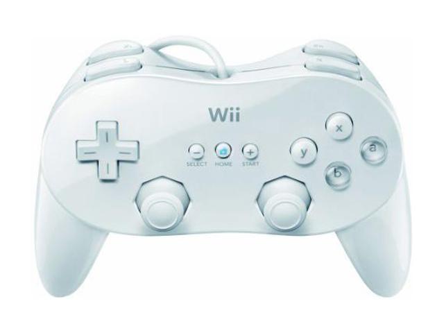 Nintendo Wii Classic Controller Pro White