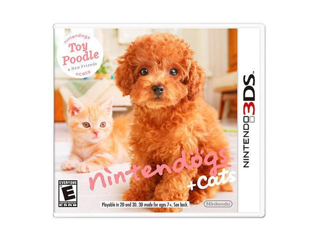 Nintendogs + Cats: Toy Poodle and New Friends 3DS Nintendo 3DS Game