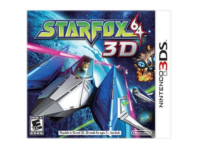 Starfox 64 3DS Nintendo 3DS Game
